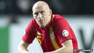 Wales defender James Collins
