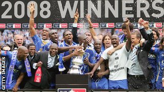 Portsmouth win the FA Cup