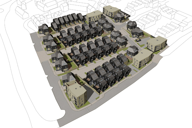 3D plan of Newhall Be