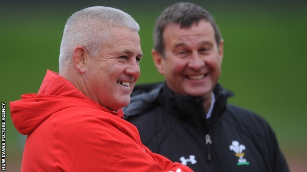 Warren Gatland and Roger Lewis