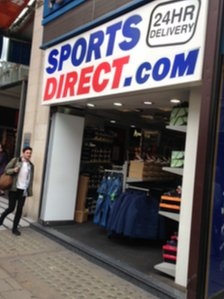 Sports Direct's store on London's Oxford Street