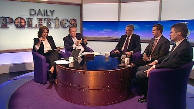 Daily Politics panel