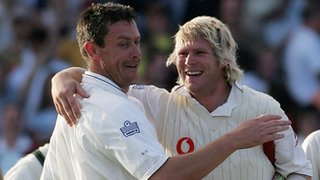 Ashley Giles and Matthew Hoggard