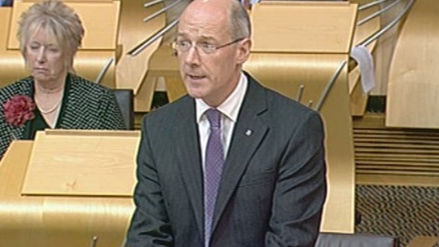 Finance Secretary John Swinney
