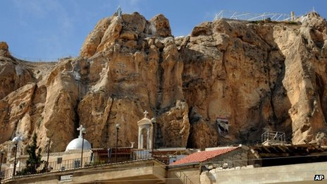 Church in Maaloula (7 September 2013)