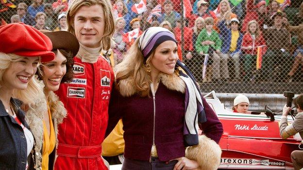 Chris Hemsworth in Rush