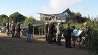Visitors at Attenborough Nature Reserve