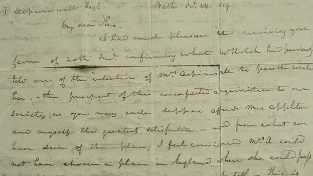 Edward Appleton letter
