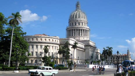 Capitolio in Havana in September 2013