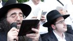 Rabbi Yoshiyahu Pinto (photograph by Noam Sharon)