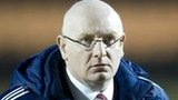 John McGlynn left Hearts in February