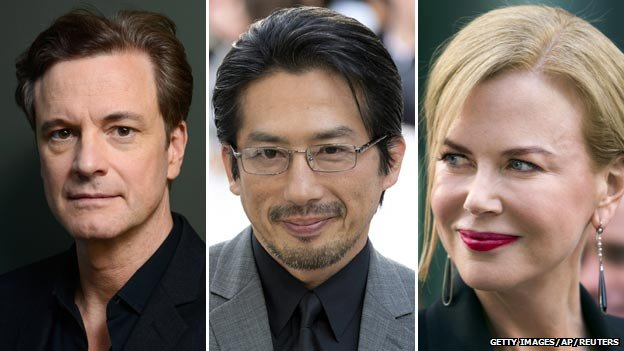 Colin Firth, Hiroyuki Sanada