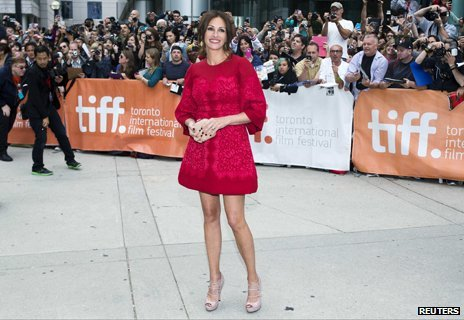 Julia Roberts at the Toronto Film Festival