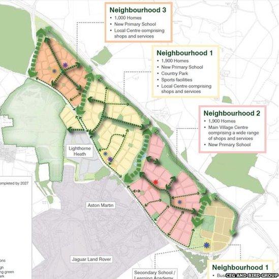 Scheme proposal map