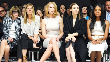 Anna Wintour, Virginia Smith, Kidman, Rooney Mara and Naomie Harris