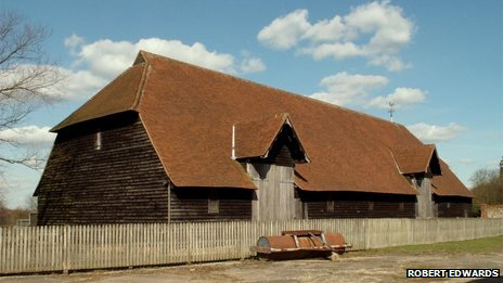 Prior's Hall Barn, Widdington, Essex - creative commons photo from geography.co.uk