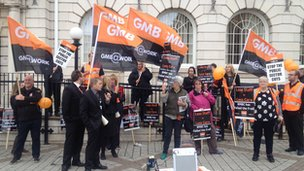 GMB protest