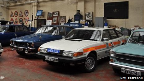 The Metropolitan Police Historical Vehicle Collection (c) Neil Paterson