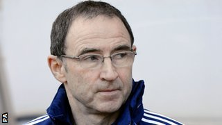 Martin O'Neill is the favourite to become the next Republic of Ireland manager
