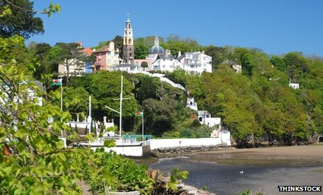 View of Portmeirion