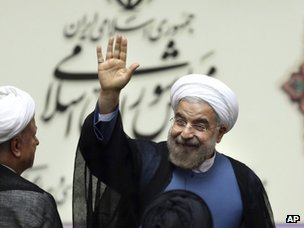 Hassan Rouhani (4 August 2013)