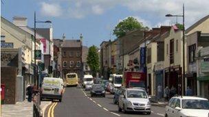 Downpatrick traffic