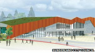 Proposed Washington Leisure Centre
