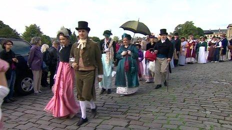 Jane Austen Festival parade