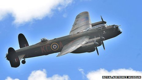 The Battle of Britain Memorial Flight Lancaster