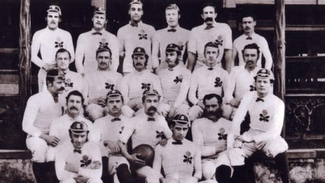 Old team photo