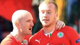 Ryan Catney and Liam Boyce