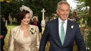 Cherie Blair, Tony Blair