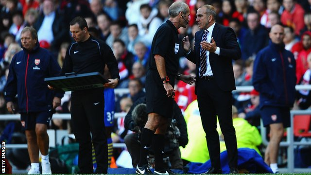 Martin Atkinson and Paolo Di Canio