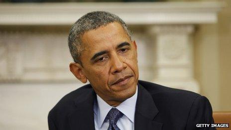President Barack Obama  in the Oval Office (13 September 2013)