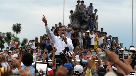 Sam Rainsy (15 September 2013)