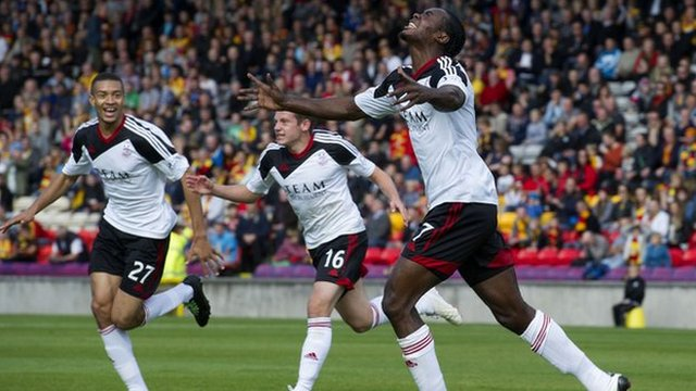 Highlights - Partick Thistle 0-3 Aberdeen
