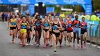 Elite women runners take on the Great North Run