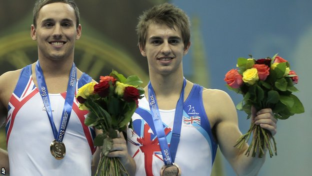 Daniel Keatings and Max Whitlock