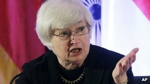 A picture of Janet Yellen, vice chair at the Fed