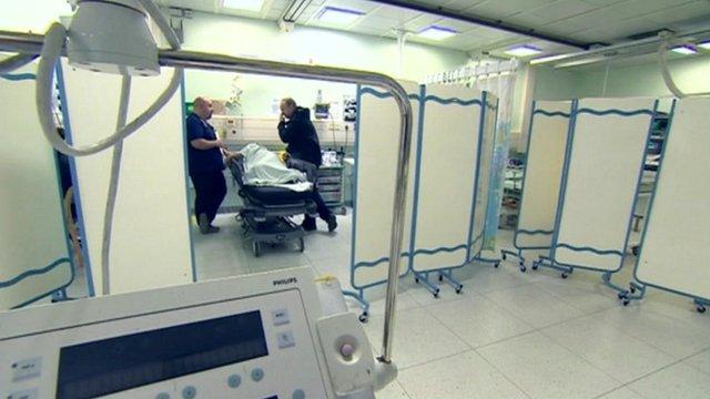 A&E department at Queen Elizabeth Hospital in Gateshead