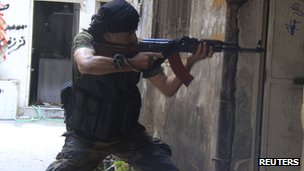 Free Syrian Army fighter (12 September 2013)