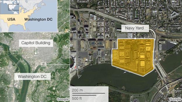 Washington Navy Yard Shootings Breaking News