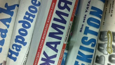 Uzbek newspapers
