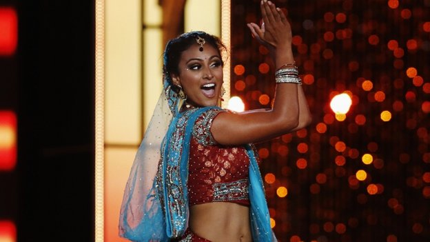 Nina Davuluri performed an Indian dance routine at the Miss America Competition