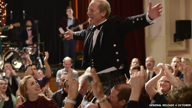 Sunshine on Leith stars Peter Mullan as Rab