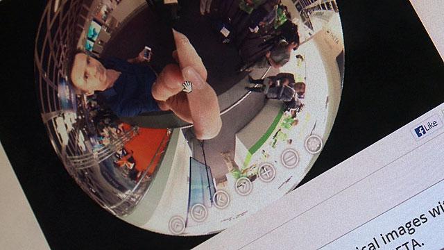 Spencer Kelly through a 360 degree lens