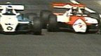 John Watson takes the lead of the 1982 United States GP