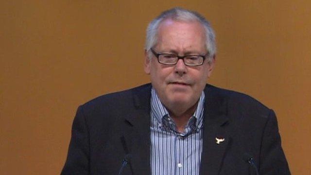 Lib Dem delegate in Syria debate