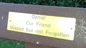 Daniel Pelka memorial bench