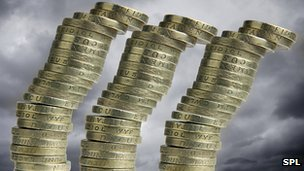 Toppling money